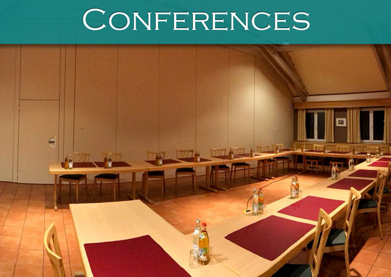 conferences in the relaxed atmosphere of Hotel*** Grüner Baum